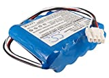 Battery2go - 1 year warranty - 12.0V Battery For Nihon BSM-2354, X062, 10HR-4/3FAUC-NK, BSM2301A, YS-076P5, BSM-2304