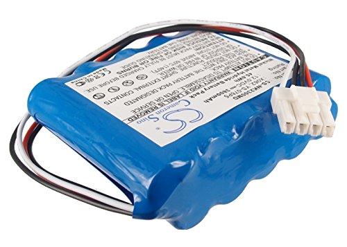Battery2go - 1 year warranty - 12.0V Battery For Nihon BSM-2354, X062, 10HR-4/3FAUC-NK, BSM2301A, YS-076P5, BSM-2304