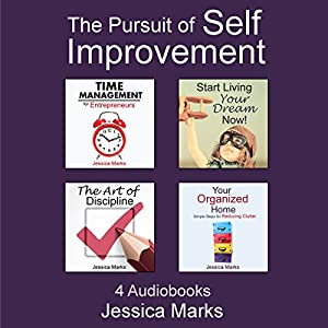 The Pursuit of Self Improvement Bundle Set 1: Books 1-4 Audiobook