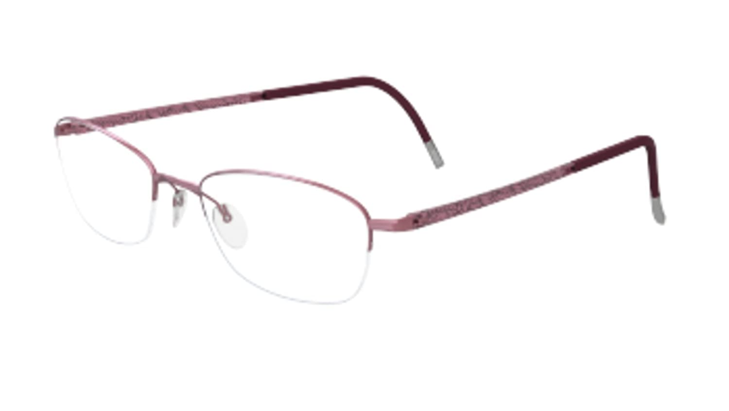 1b474135ebe Amazon.com  Silhouette Eyeglasses Illusion Nylor 4453 White (6053 ...