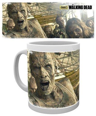 The Walking Dead Walkers zombie AMC oficial nuevo Boxed Jarra