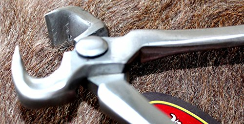Horse Vanadium Steel Farrier Tool Professional One Handed Foal Mini Nipper 98455 by ProRider USA (Image #2)