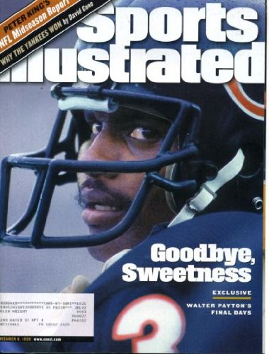 New York Yankees David Cone - Sports Illustrated November 8 1999 Walter Payton/Chicago Bears on Cover (His Final Days), Why the New York Yankees Won by David Cone, Keyshawn Johnson/New York Jets