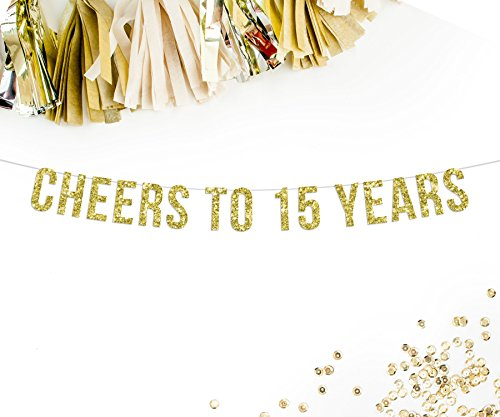 cheers-to-15-years-gold-glitter-party-banner-15th-anniversary-corporate-decor-bunting-banner-garland
