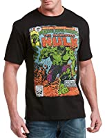 Hulk '59 Monster Comic Cover Big & Tall Short Sleeve Graphic T-Shirt