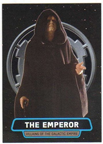 - 2016 Topps Star Wars Rogue One Mission Briefing Villains of the Galactic Empire #2 The Emperor