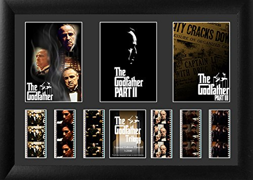 The Godfather Trilogy (Triple) Film Cell by Film Cells