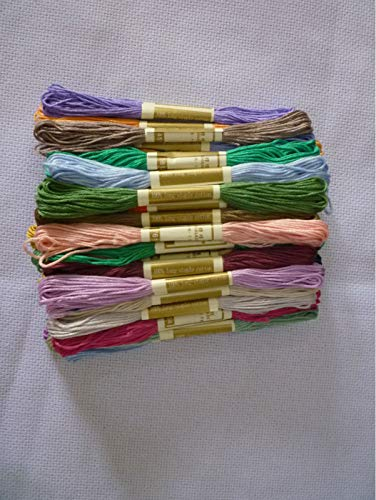 - Maslin 100% Pure Cotton - 150 Pieces/lot - Cross Stitch/Embroidery Floss Yarn Thread