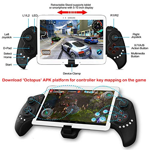 Wireless Android Game Controller for PUBG Fotnite, Megadream