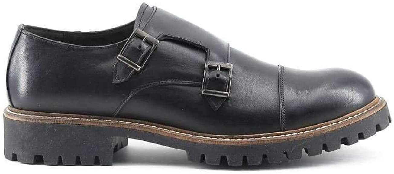 TALLA 42 EU. Made In Italia Shoes - Zapatos Monkstrap Hombre