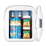 DULPLAY White Portable Car Refrigerator,Mini Fridge,...