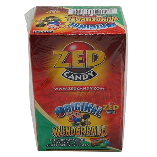 (Zed Candy miracle ball original gum 50 Pieces)