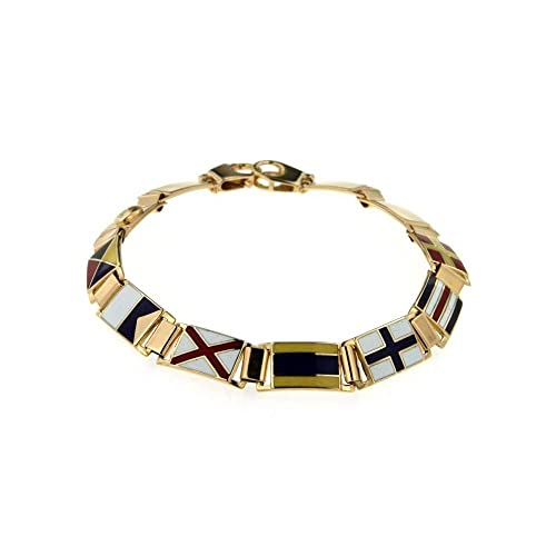 qualità del marchio acquista lusso design moderno Bracciale Arcadia Bandiere Nautiche: Amazon.it: Gioielli