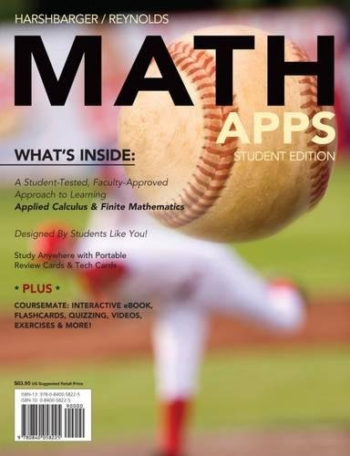 MATH APPS (with Math CourseMate with eBook Printed Access Card)