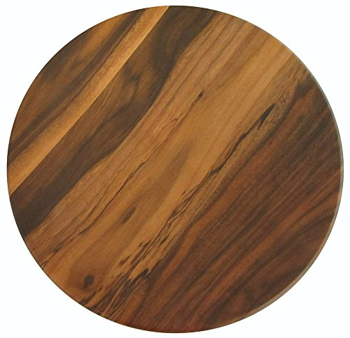 Merritt International Acadia Wood 13.75in round tray