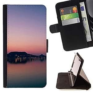 Momo Phone Case / Flip Funda de Cuero Case Cover - Sunset Beautiful Nature 81 - HTC One M9