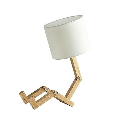 Protección de los ojos lámpara de mesa, escritorio del dormitorio ...