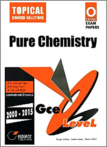 Gce o level pure chemistry topical 2000 to 2015 redspot gce o level pure chemistry topical 2000 to 2015 redspot publishing 9786577920095 amazon books fandeluxe Choice Image