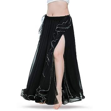 ROYAL SMEELA Falda Danza del Vientre Mujer Traje de Falda largas ...