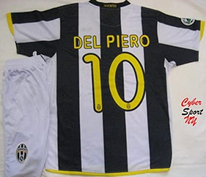 ad8addf52 Amazon.com   JUVENTUS Turin Italy Soccer Jersey DEL PIERO Adult Large    Sports Fan Soccer Jerseys   Sports   Outdoors