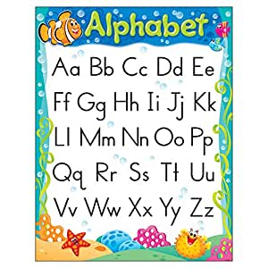 "TREND enterprises, Inc. Alphabet Sea Buddies Learning Chart, 17"" x 22"""