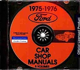 51NbAt7j%2B8L._SX258_BO1204203200_ 1975 1976 ford repair shop & service manual cd ford elite, ltd Ford Wiring Harness Kits at readyjetset.co