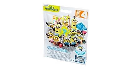 Mega Bloks Despicable Me Minion Blind Pack Series 3 - Foil Poly Bag - 1  Assorted 66e84b22f066b