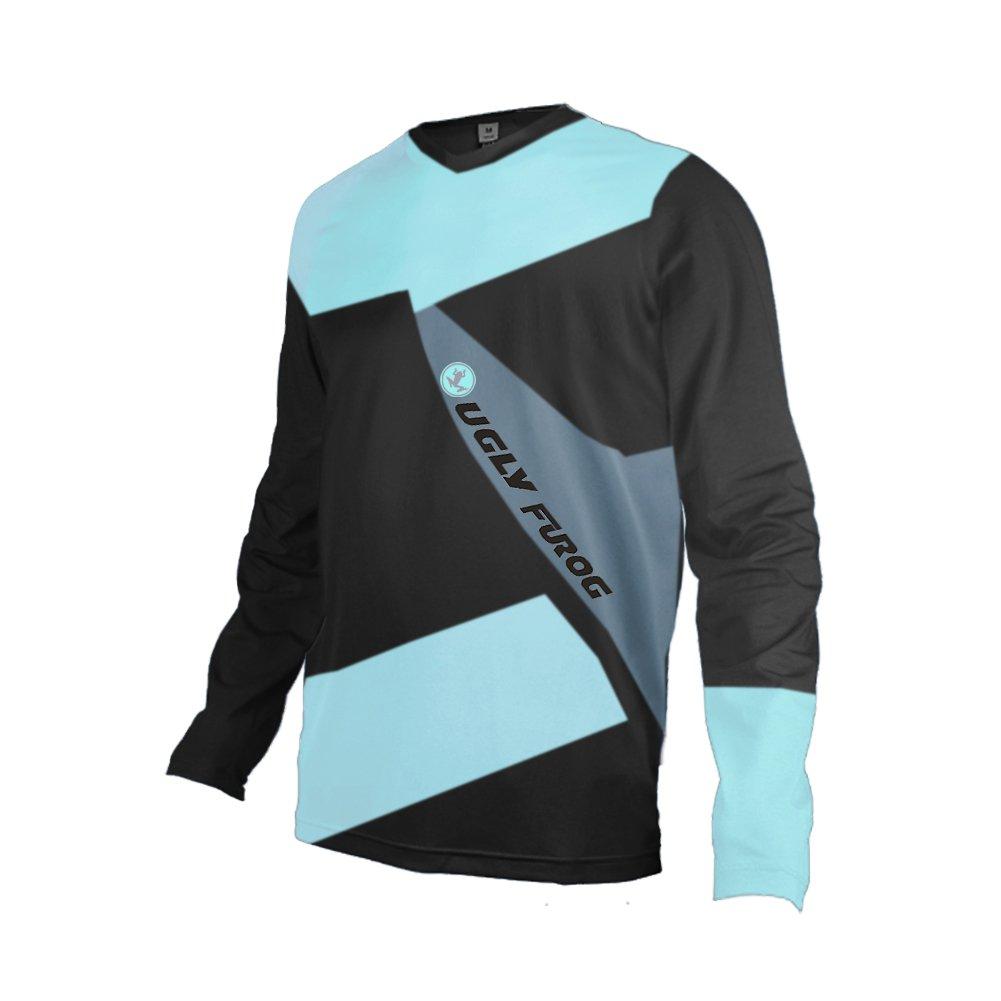 Uglyfrog Vendita Calda Manica Lunga Magliette Uomo MTB Downhill Primavera Jersey Mountain Bike Abbigliamento