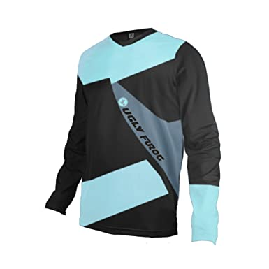 Uglyfrog Bike Wear Mens Downhill Jersey Rage MTB Cycling Top Cycle Long  Sleeve Spring Mountain Bike 065f52528