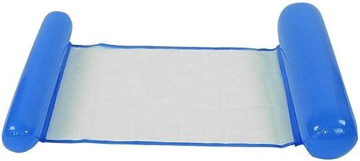Flotador de la Hamaca de la Piscina, colchón de Aire Ligero Salón de la Cama del Amortiguador del Flotador Inflable de la Playa de la Piscina para el Adulto de los niños