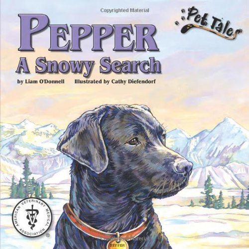 Pepper: A Snowy Search - A Pet Tales Story (with audiobook CD)
