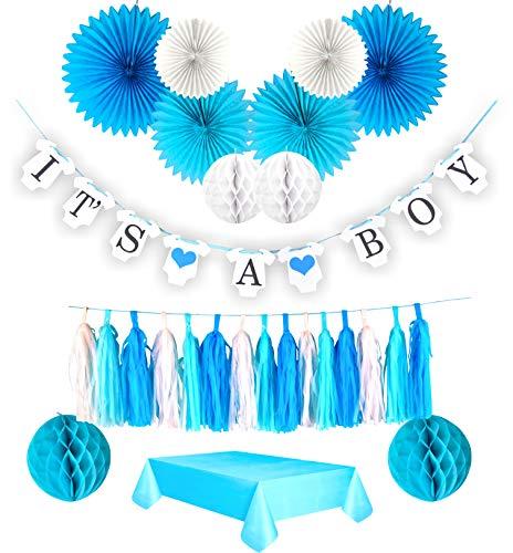 (Boy Baby Shower Decorations kit.
