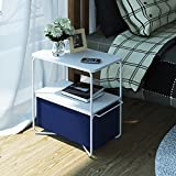 Indoor Multi-function Accent table Study Computer Desk Bedroom Living Room Modern Style End Table Sofa Side Table Coffee Table Side Table End Table