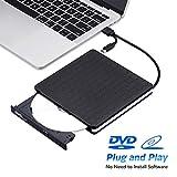 External DVD Drive for Laptop, Portable High-Speed