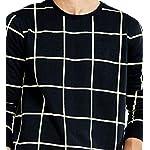 Maniac-Mens-Cotton-T-Shirt-Mens-Ss18-Rn-Fs-Checked-Tshirt