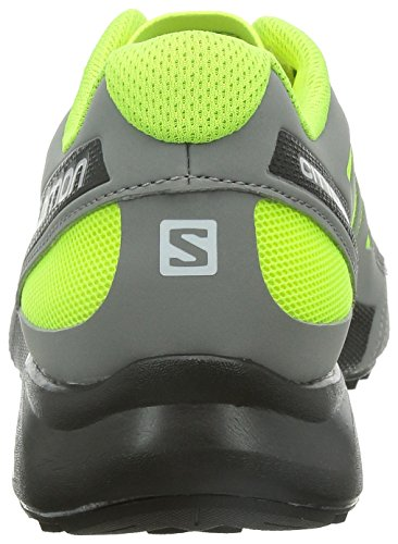 City Cross pewter Aero fluoyellow black Salomon Men d6zAq6w