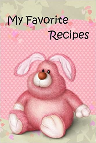 my favourite recipes journal notebook recipe keeper organizer to