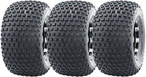 3-Pack 10026 3 Three Wheeler Off-Road ATV Terrain Knobby Tire 22x11 8 22x11.00-8