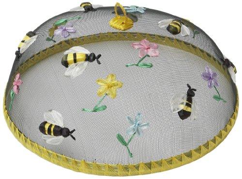 Woodard & Charles Round Bees Food Domes, 14-Inch by Woodard & Charles