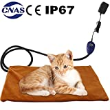 B Bascolor Pet Heating Pad Mat Blanket Electric Waterproof Adjustable Warming for Dogs Cats Kittens For Sale