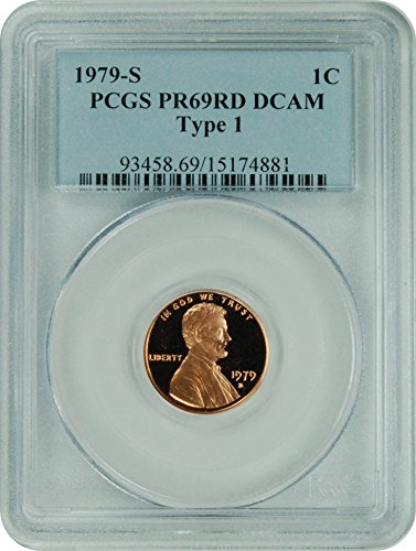 1979 S Lincoln Lincoln Type 1 Cent DCAM PCGS PR-69