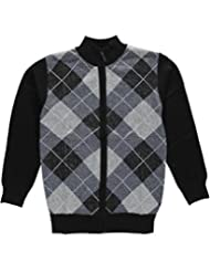 "American Legend Outfitters Big Boys' ""Argyle Access"" Zip-Up Sweater"