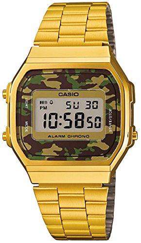 CASIO カシオ ユニセックス 腕時計 ウォッチ デジタル カジュアル チプカシ チープカシオ カモフラージュ柄 A168WEGC-3EF 【並行輸入品】