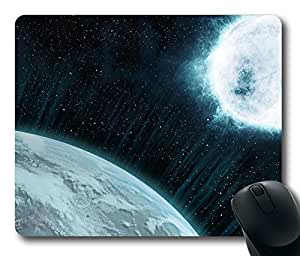 Space Concept Art Mouse Pad Desktop Laptop Mousepads Comfortable Office Mouse Pad Mat Cute Gaming Mouse Pad by mcsharks