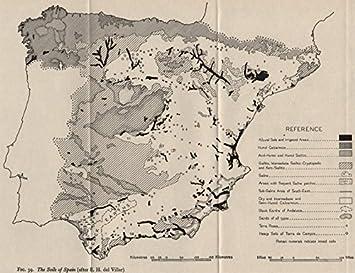 2 Weltkrieg Karte.Amazon De Spanien Und Die Boden Von Spanien 2 Weltkrieg