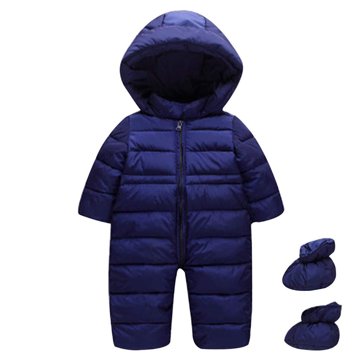 famuka Baby Schneeanzug Jungen Mädchen Winter Babybekleidungsset