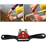 """1PCS Metal Woodworking Blade Spoke Shave Manual Planer Plane Deburring Hand Tools 9"""" SAK"""