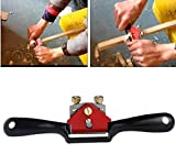 (US) 1PCS Metal Woodworking Blade Spoke Shave Manual Planer Plane Deburring Hand Tools 9