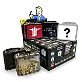 FanWraps Bethesda: Mystery Mini Series 1 (One Random Tote) Fallout Skyrim & Others Tin Luncbox, Multi