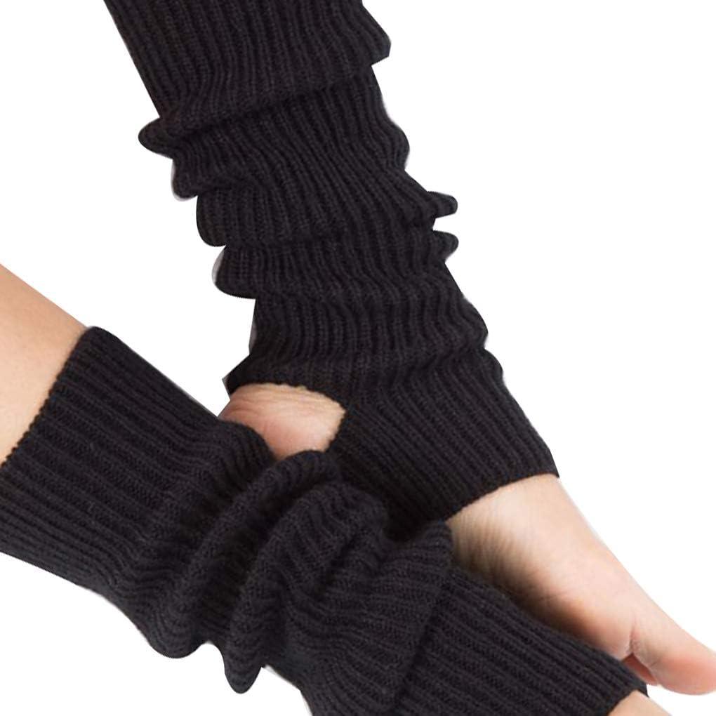 Bobury 1 Coppia Donna Calzini Latini Fitness Danza Femminile Wear Daily Esercitare Lungo Caldo Sezione Knitting Socks Walking